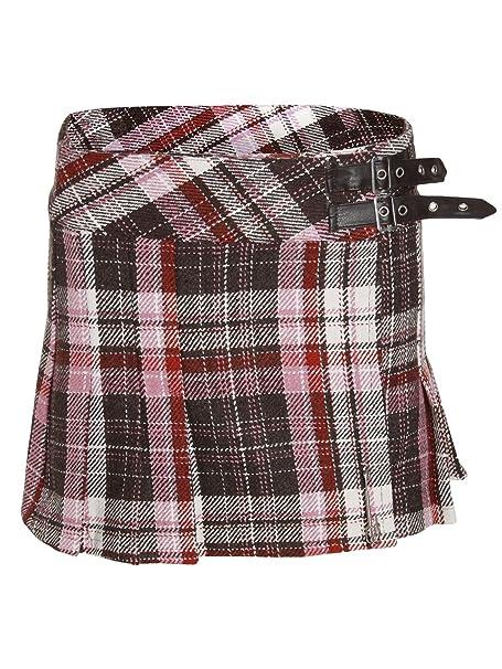 Chaos Theory Mujer Cuadros Minifalda Tartán Falda Escocesa Billie ...