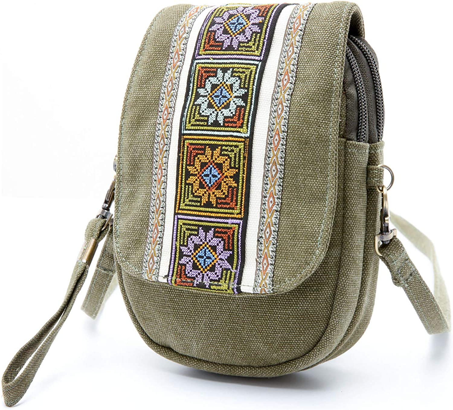 Can/'t I/'m Booked Embroidered Sling Bag