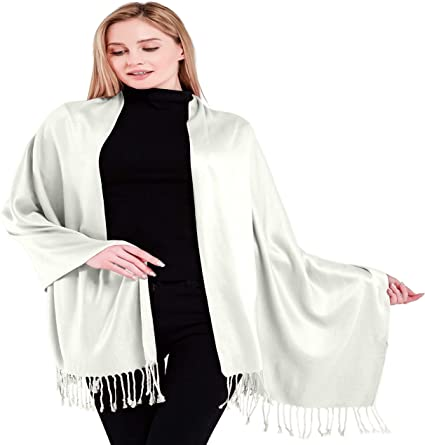 MeterMall - Women Cashmere-Like Scarf Fashion Solid Color