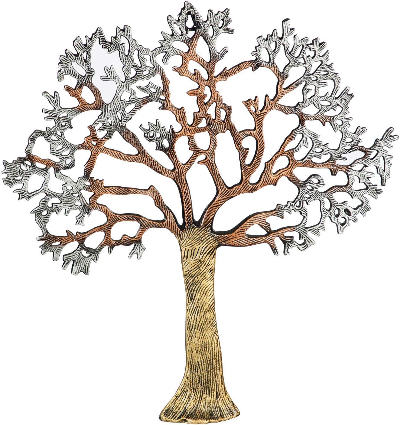 Cape Craftsmen Metallic Tree Outdoor Metal Wall Art Indoor Outdoor Décor and Home Accents for Garden and Yard