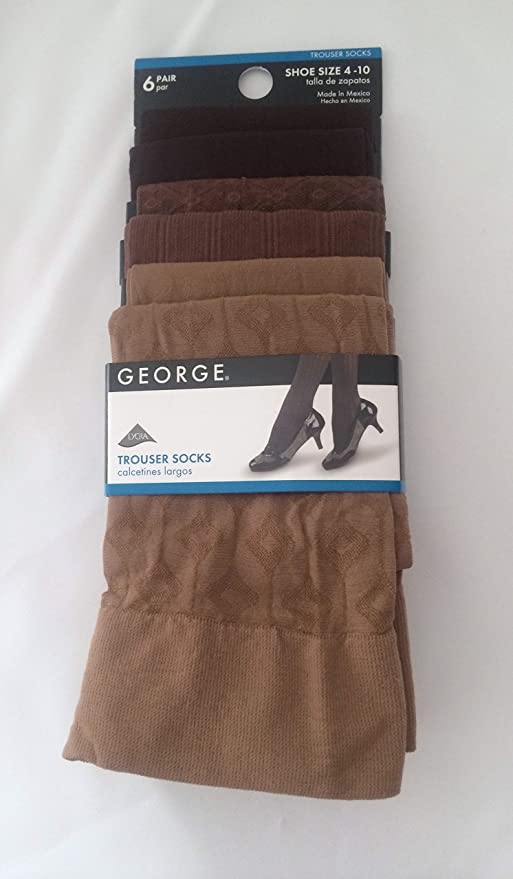 Shades of Brown Trouser Socks