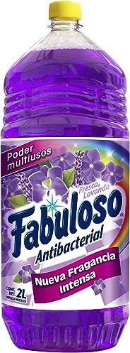 Fabuloso Limpiador liquido fabuloso antibacterial lavanda multiusos 2 lt
