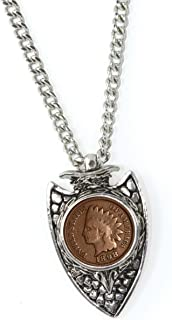 product image for American Coin Treasures 1800s Indian Cent Arrowhead Men's Pendant Necklace
