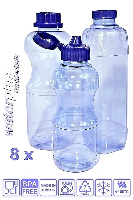 8 botellas de la BPA/BPS libre Material TRITAN (sin plastificantes), juego