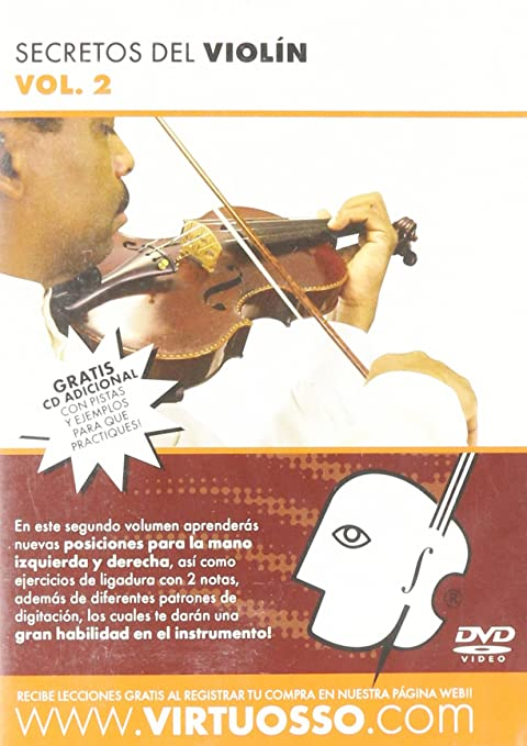 Virtuosso Violin Method Vol.2 (Curso De Violín Vol.2) SPANISH ONLY