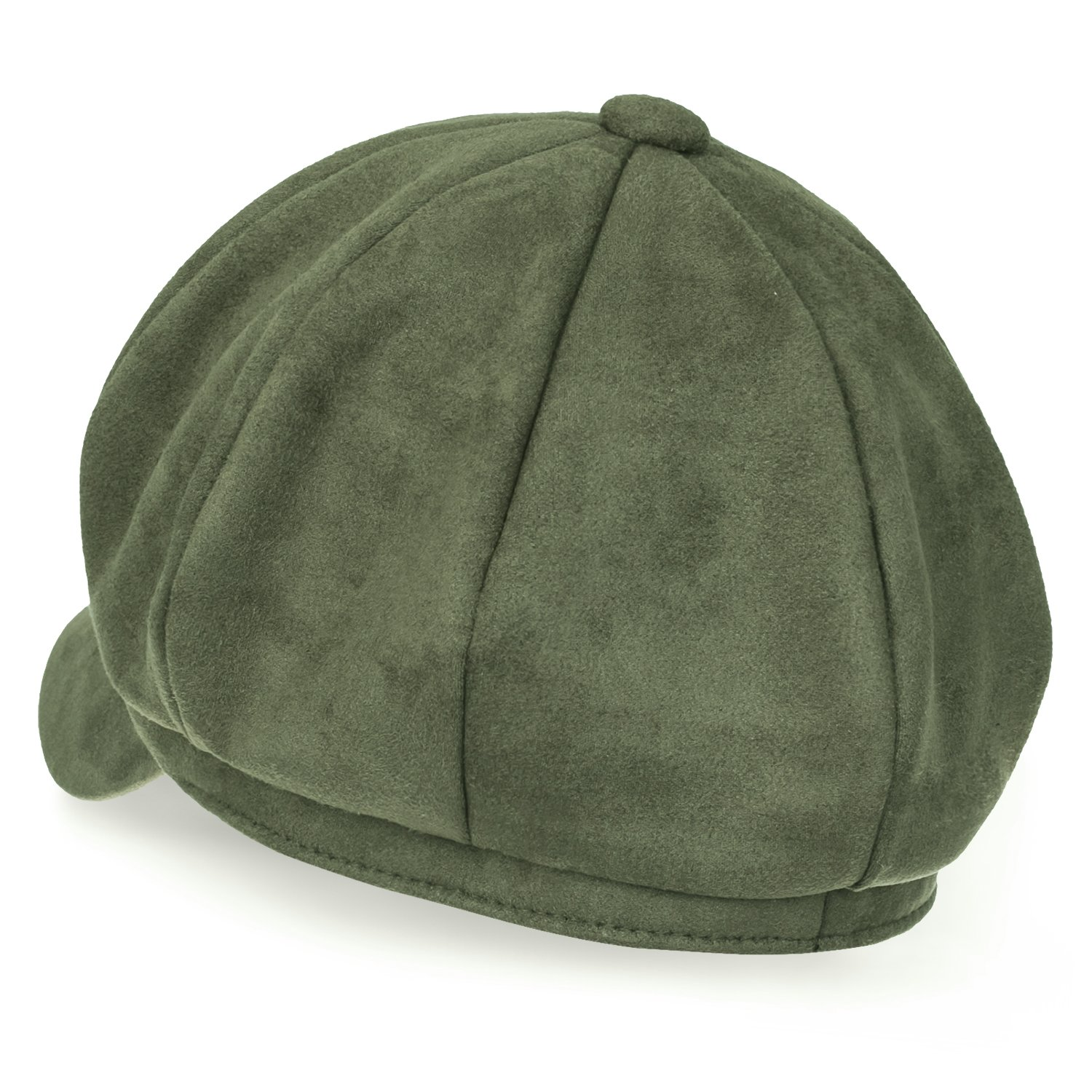 Design details  suede solid color vintage balloon artist cap with button on  the top. Inner band  approx. 57cm (7 1 8)   brim width  approx. 5.5cm  (2.2