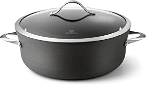 Calphalon Contemporary Hard-Anodized Aluminum Nonstick Cookware, Dutch Oven, 8 1/2-quart, Black