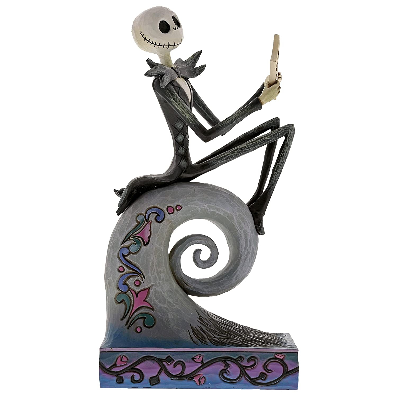 Disney Traditions by Jim Shore Jack Skellington Stone Resin Figurine, 8.5