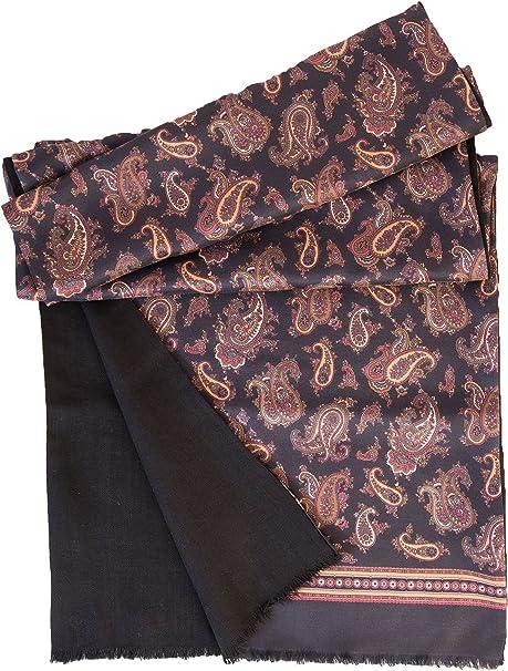 Black Satin Mens Ladies Unisex Formal Scarf Dress Scarf Evening Scarf