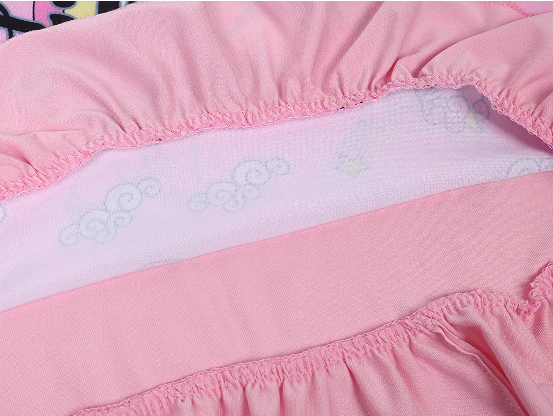 Coralup Girls Unicorn Nightgown Sleepwear Casual Princess Dress