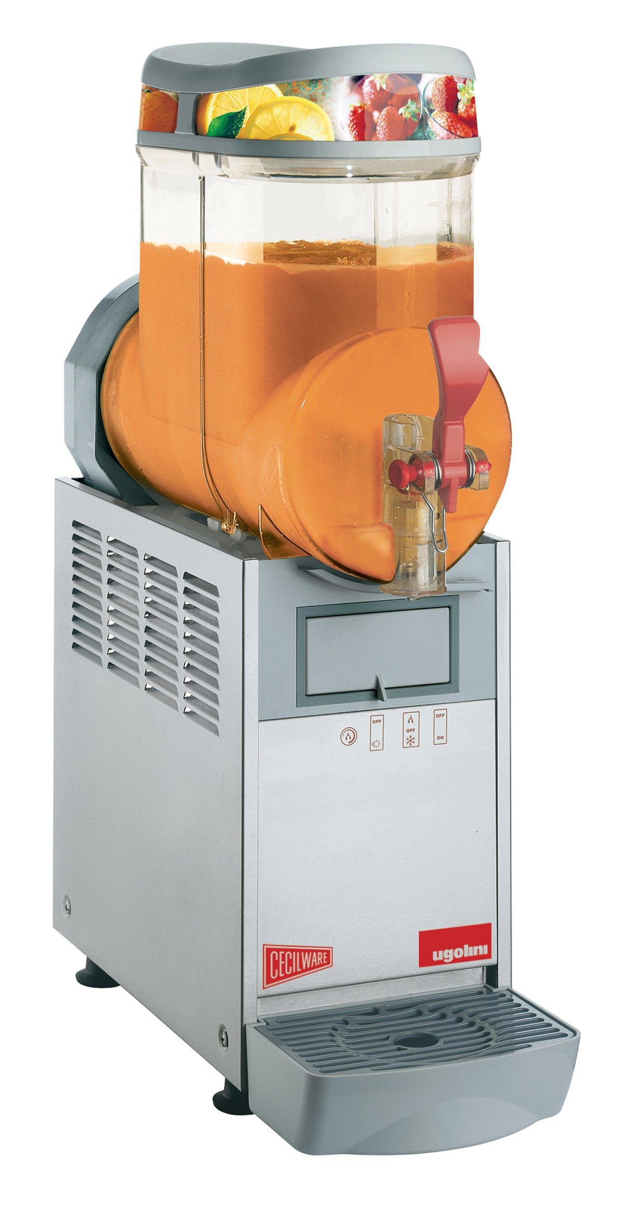 Grindmaster-Cecilware MT1Mini Stainless Steel FrigoGranita 1.5-Gallon Slush Dispenser with Magnetic Drive, Single