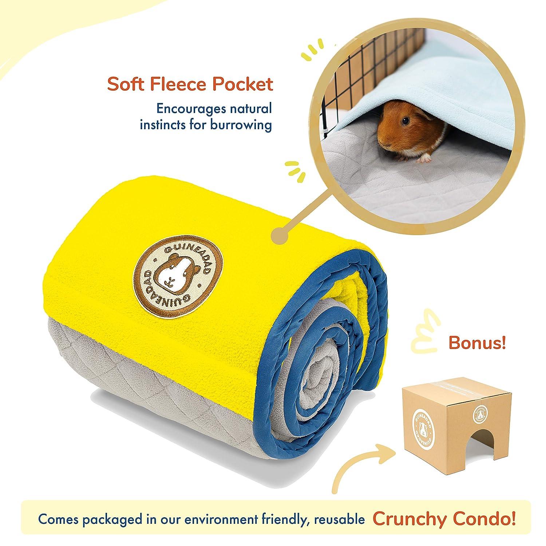 GuineaDad Fleece Liner 2.0 Conejillo de Indias del paño Grueso y ...