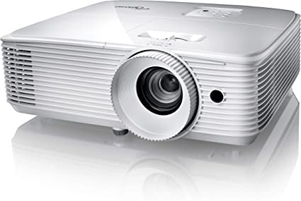 Optoma Hd29h Full Hd Projektor 3 400 Lumen 50 000 1 Kontrast 3d Zoom 1 1 Weiß Heimkino Tv Video