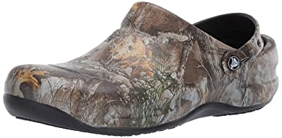 27eae04831725 Crocs Men s and Women s Bistro Realtree Edge Work Clog