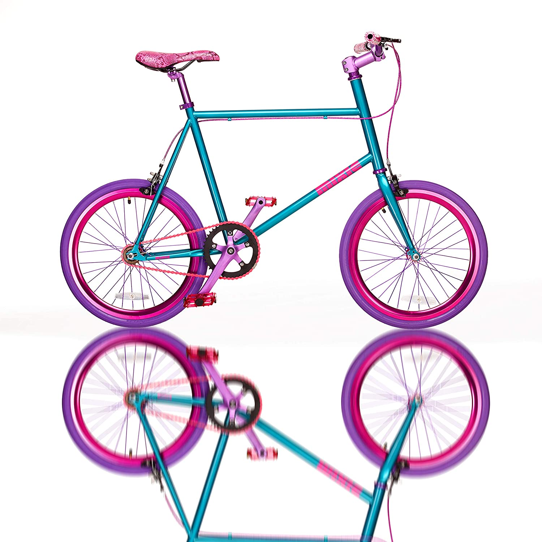 Amazon.com: Fydelity MIXIE Mixed Gear Fixie Bike ...
