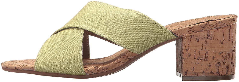 Aerosoles Women's Midday Slide Sandal B076J6GRTH 9.5 M US|Light Green Combo