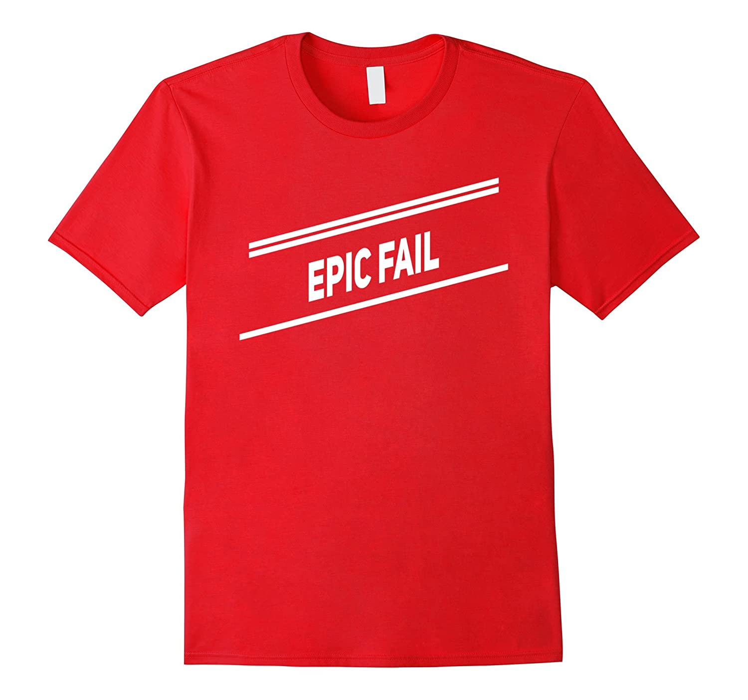 Epic Fail Stripe Cool T-shirt Men Women Kids Boys Girls-T-Shirt