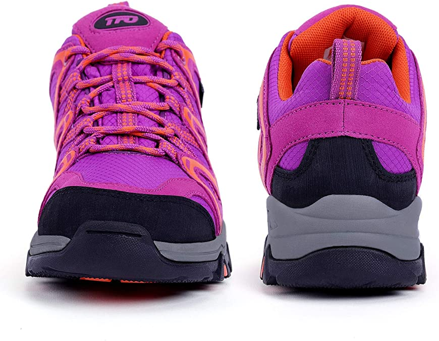 ZFLIN Hiking Shoes Outdoor Non-Slip Thick Bottom Walking Shoes