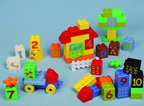 Best Learning Toys For 3 Year Olds : Amazon eti toys piece bublu counting blox build car