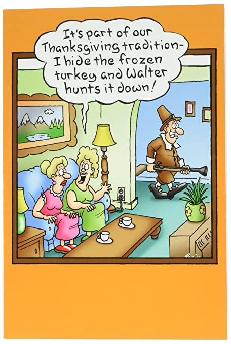 Amazon 3521 hunting frozen turkey funny thanksgiving 3521 hunting frozen turkey funny thanksgiving greeting card with 5quot x 7quot m4hsunfo