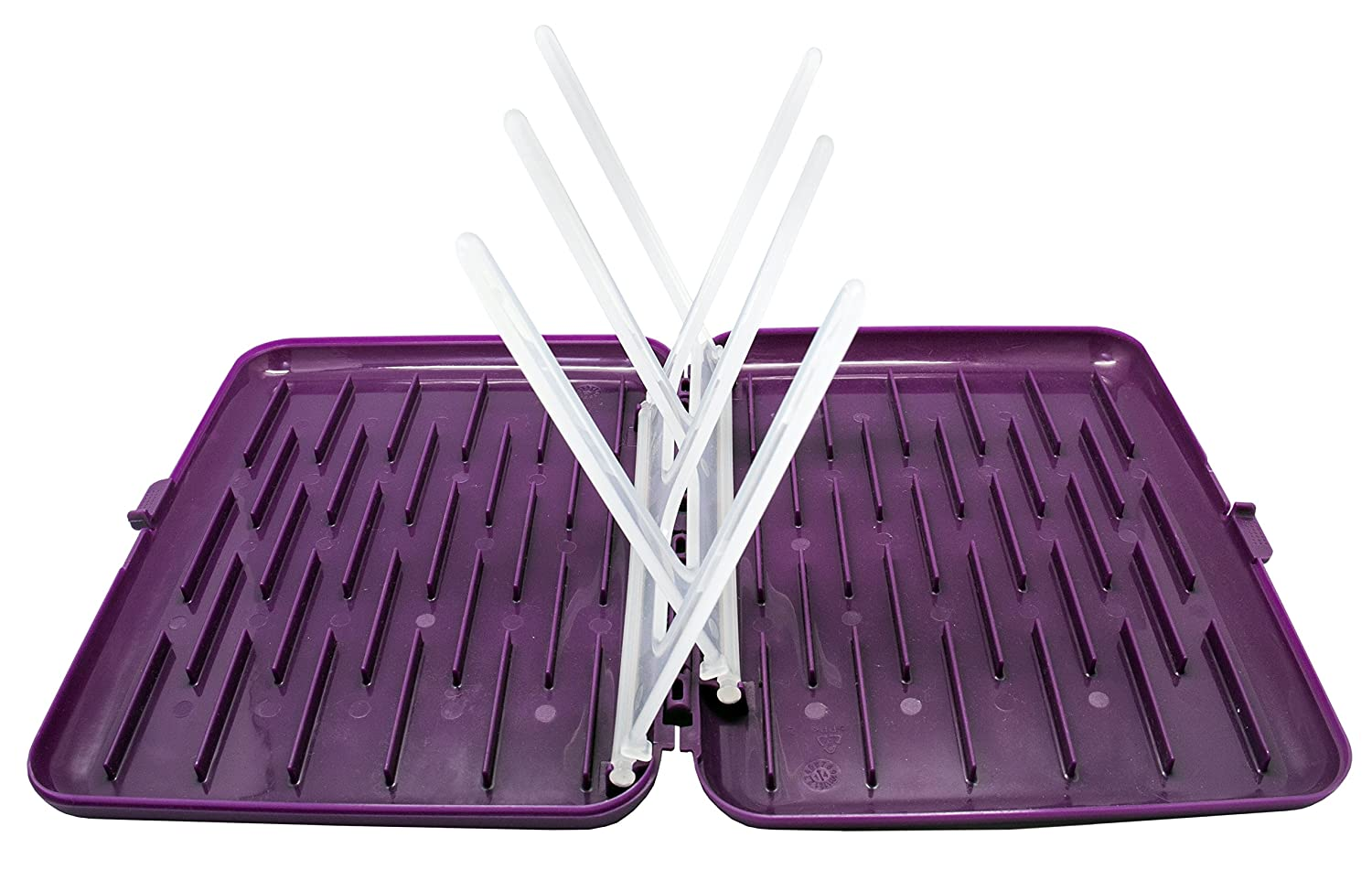 b.box Travel Drying Rack for Baby Feeding Accessories & Equipment (Grape) 9319064003430