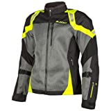 Klim Induction Mesh Summer Jacket Hi-Viz Yellow Large (More Size Options)