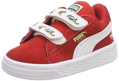 PUMA MINIONS SUEDE V Ps Sneaker Chaussures pour Enfants