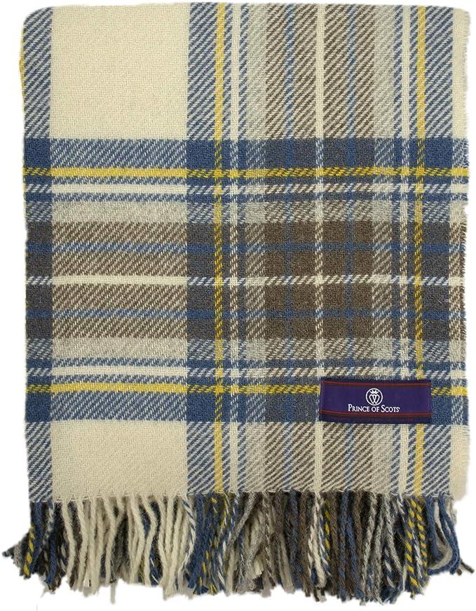 Royal Stewart 100/% Pure Wool Authentic Traditional Scottish Border Shawl