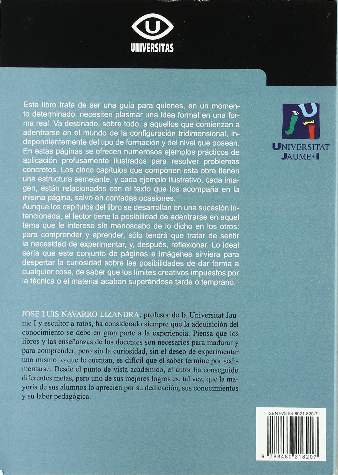MAQUETAS, MODELOS Y MOLDES (2º)MATERIALES Y TECNICAS PARA DAR FORMA A LAS IDEAS: José Luis Navarro Lizandra: 9788480218207: Amazon.com: Books
