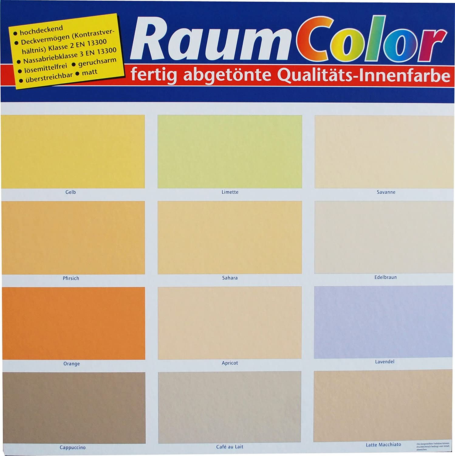Raum Color Latte Macchiato 5 Liter: Amazon.de: Baumarkt