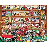 White Mountain Puzzles Vintage Toys - 1000 Piece Jigsaw Puzzle