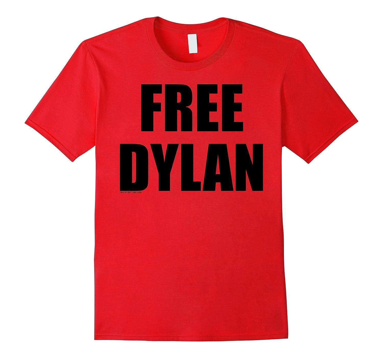 American Vandal FREE DYLAN Block Letters Graphic T-Shirt-Rose