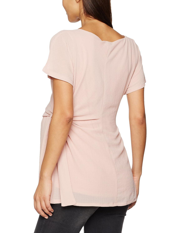 MAMALICIOUS Damen Umstands-T-Shirt Mlelista S//S Woven Top