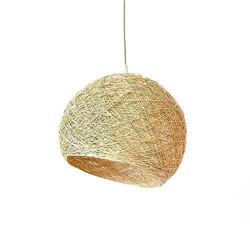 Lámpara Colgante Minimalista Diseño Escandinava Artesanal ...