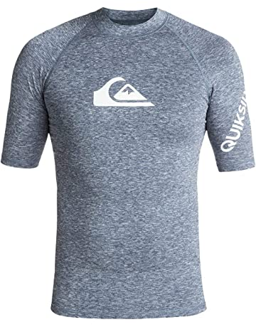 32577fd167 Quiksilver All Time Lycra Manches Courtes UPF 50 Homme