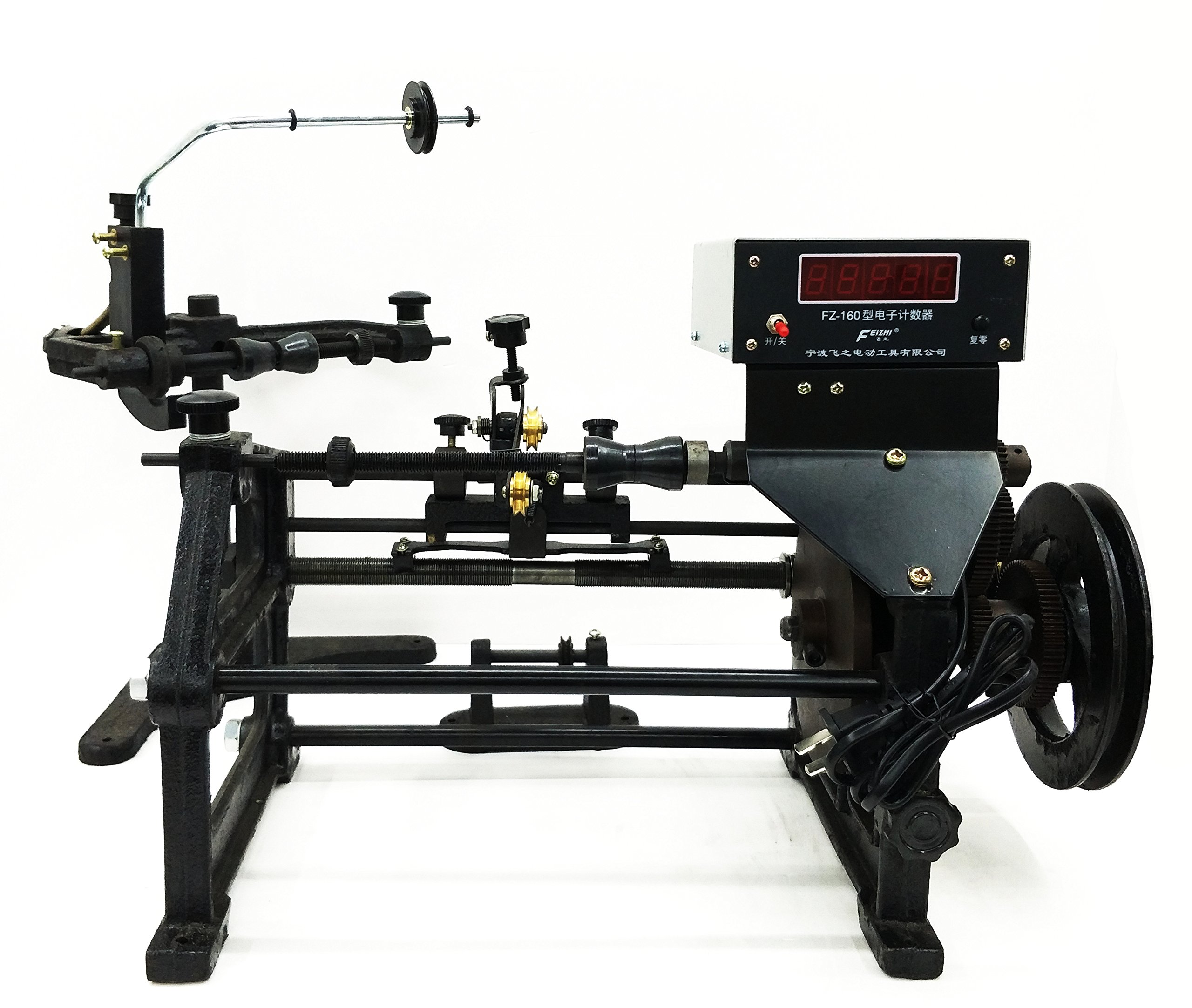 FZ-160 Manual Digital Display Coil Counting Cable Winding Machine