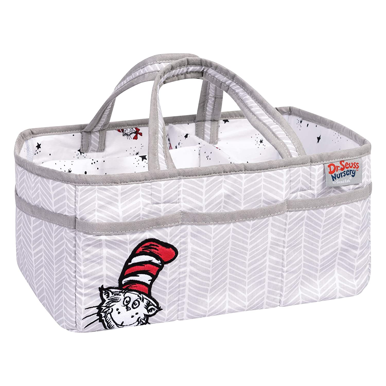 Trend Lab Dr. Seuss Lumberjack Cat in The Hat Storage Caddy