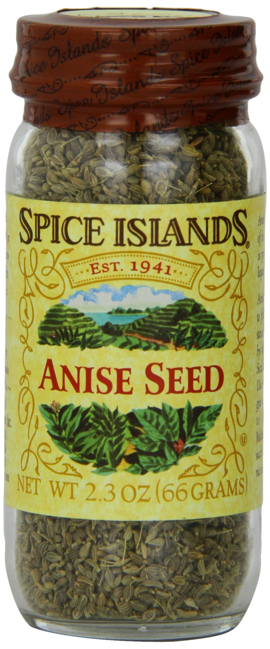Spice Islands Anise Seed, Whole, 2.3-Ounce (Pack of 3)