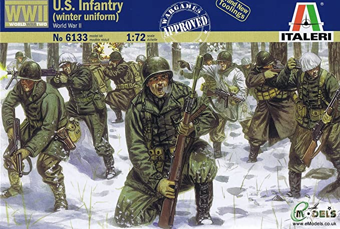 Italeri - I6133 - Maquette - Figurine - Infanterie U S Tenue Hivernale - Echelle 1:72