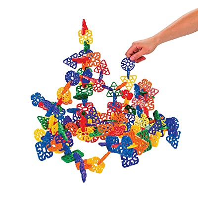 Fun Express Cool Crazy Connectors (145 Pc) - 145 Pieces - Educational and Learning Activities for Kids: Toys & Games