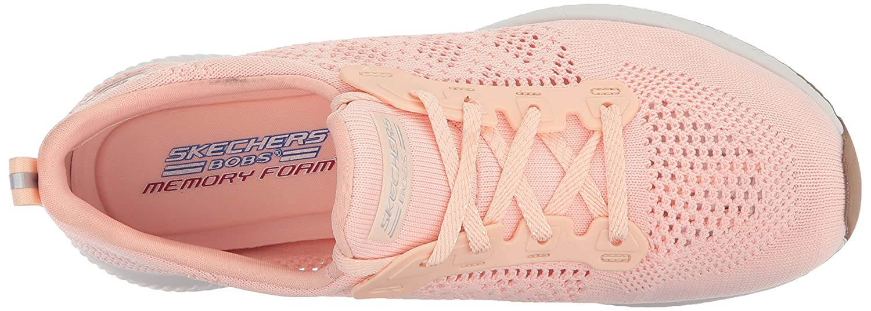 Skechers BOBS from Women's Bobs Squad-Open Weave Sneaker B07212ZVML 7.5 B(M) US|Light Pink