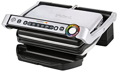 T-fal GC702D53 OptiGrill Stainless Steel Indoor Electric Grill