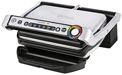T-fal GC702 OptiGrill Stainless Steel Indoor Electric Grill best holiday gifts