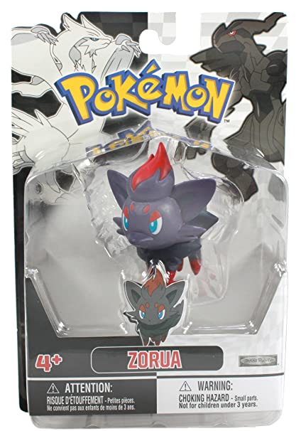 1f7ea917 Image Unavailable. Image not available for. Color: Jakks Pacific Pokemon  Black and White Figure Single Pack Volume 1 ...