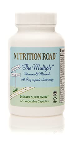 Amazon.com: Nutrition Road Multi Vitamin and Minerals in Tiny Capsule Easy to Swallow 120 Vegetable Capsules: Health & Personal Care
