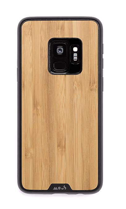 cheap for discount 3037f 4cd81 Mous Protective Samsung Galaxy S9 Case - Real Bamboo Wood - Screen  Protector Inc.