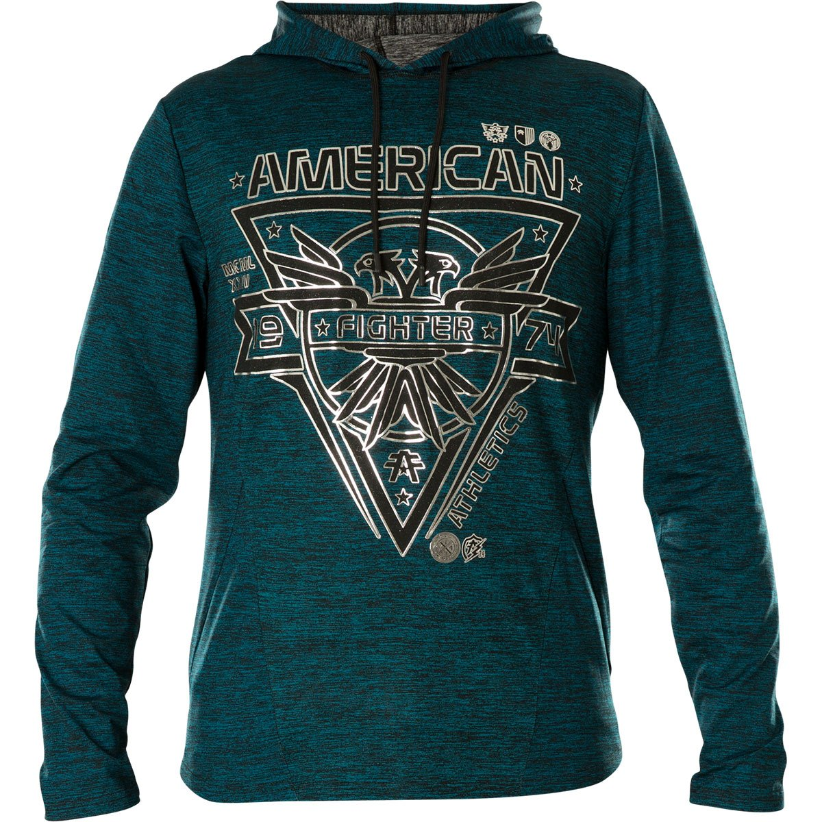 American Fighter by Affliction Hoody Baystate Petrol