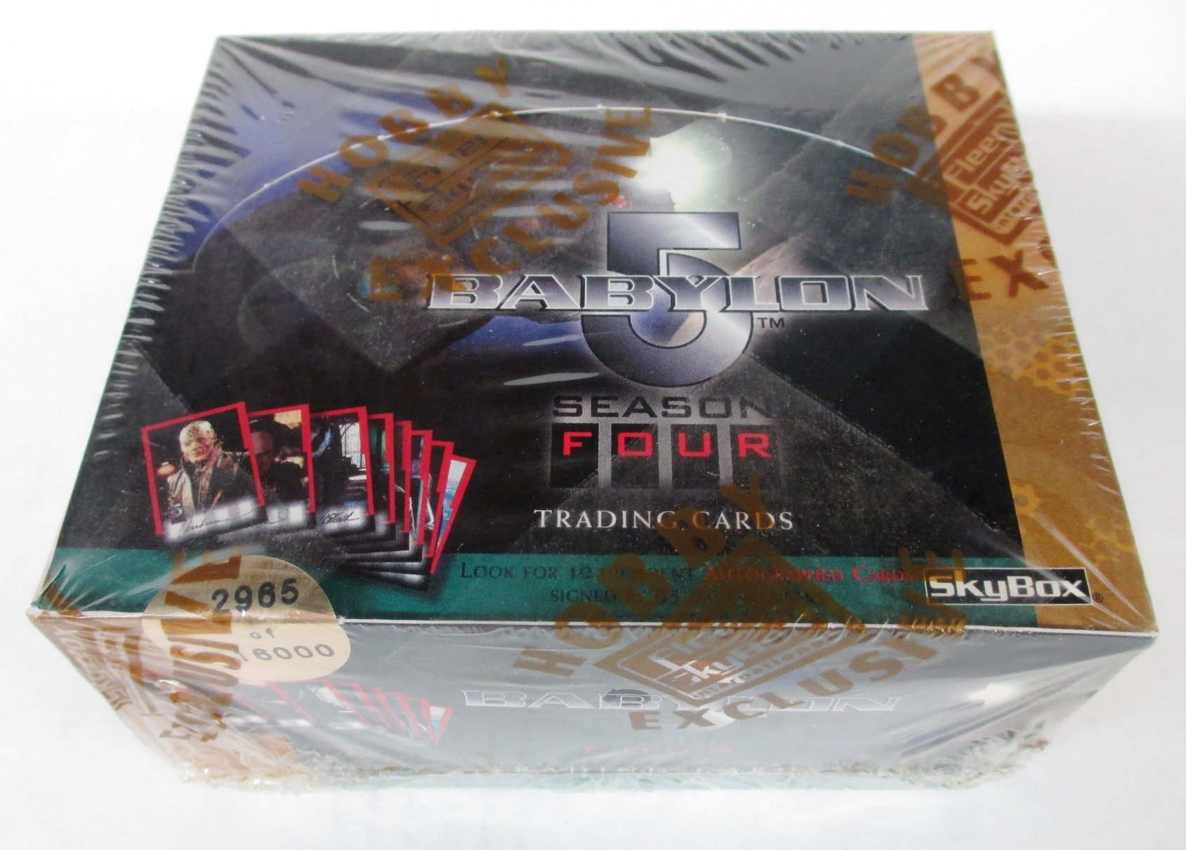 Babylon 5 Season 4 Trading Card Box Set by Skybox