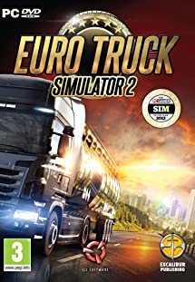560717e0895 Euro Truck Simulator 2 - PC: Video Games - Amazon.com