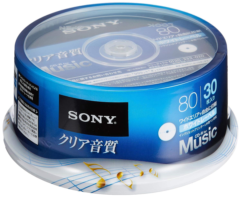 Terns] para Sony música CD-R 80 minutos/30 Hojas [Impresora de ...